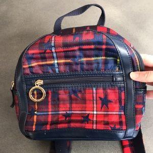 Tommy Hilfiger mini plaid stars backpack